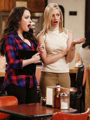 '2 Broke Girls' (CBS) | Seasons: 6 | Airs: Monday,