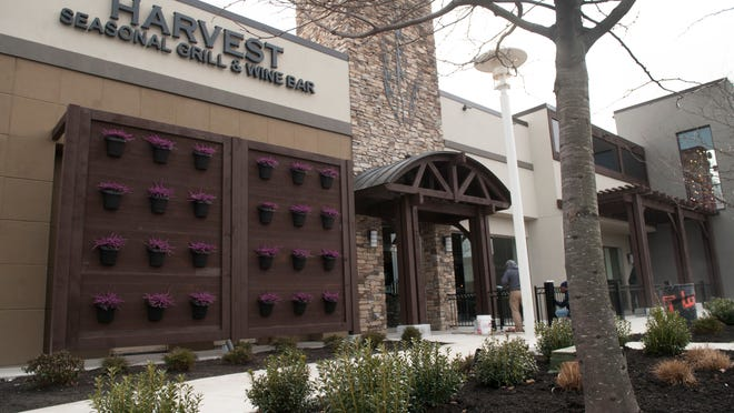 Exterior of the Harvest Seasonal Grill and Wine Bar located at the Moorestown Mall. 03.13.15