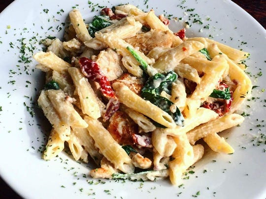 Penne Valentine at Piccolo.