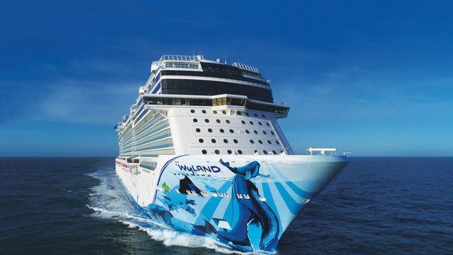 Norwegian Cruise Line's newest ship, Norwegian Bliss