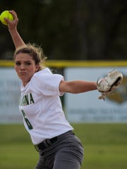 Acadiana High right-hander Sydni Larriviere will lead the Lady Rams into the 5A state playoffs for the second straight season.