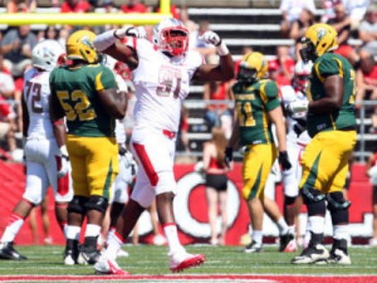 Darius Hamilton and the rest of the defensive line is a big reason why Rutgers has dominated FCS opponents out of the MEAC over the last decade. (File photo)