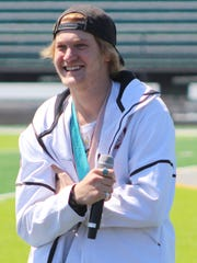 Olympian Kyle Mack appreciated all the fanfare which