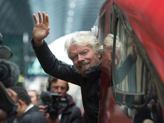 Virgin Group Founder Sir Richard Branson  during the