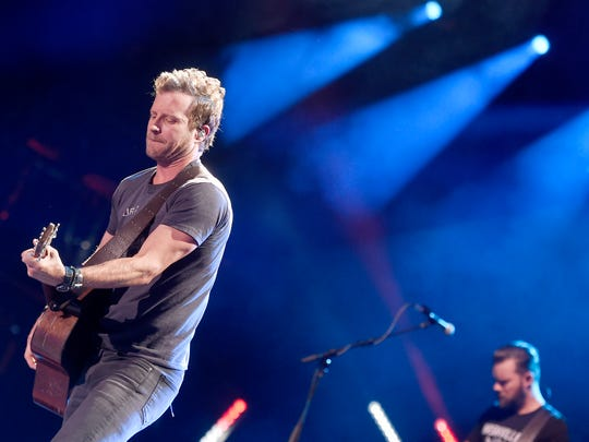 Dierks Bentley performs at the CMA Music Festival at