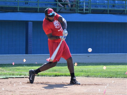 One of the new faces for the 2018 Battle Creek Bombers
