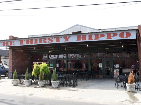 The Thirsty Hippo, at 309 McLeod Street in downtown Hattiesburg, was once the site of a dry cleaning shop belonging to Hattiesburg Councilmember Mary Dryden's grandfather.