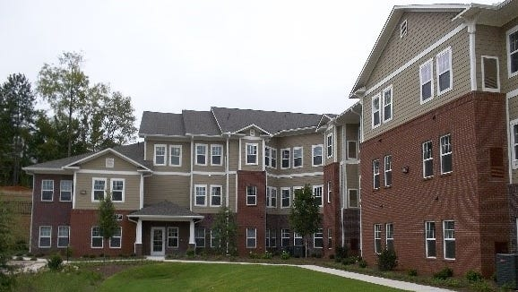 Lakewood Hills Senior Village in Athens, Georgia, is an example of a previous MACO Development Company senior housing development.