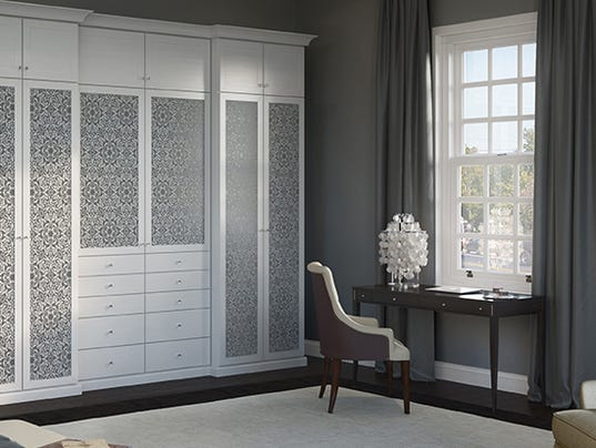 Create a stress free bedroom in 4 simple steps for California closets reno