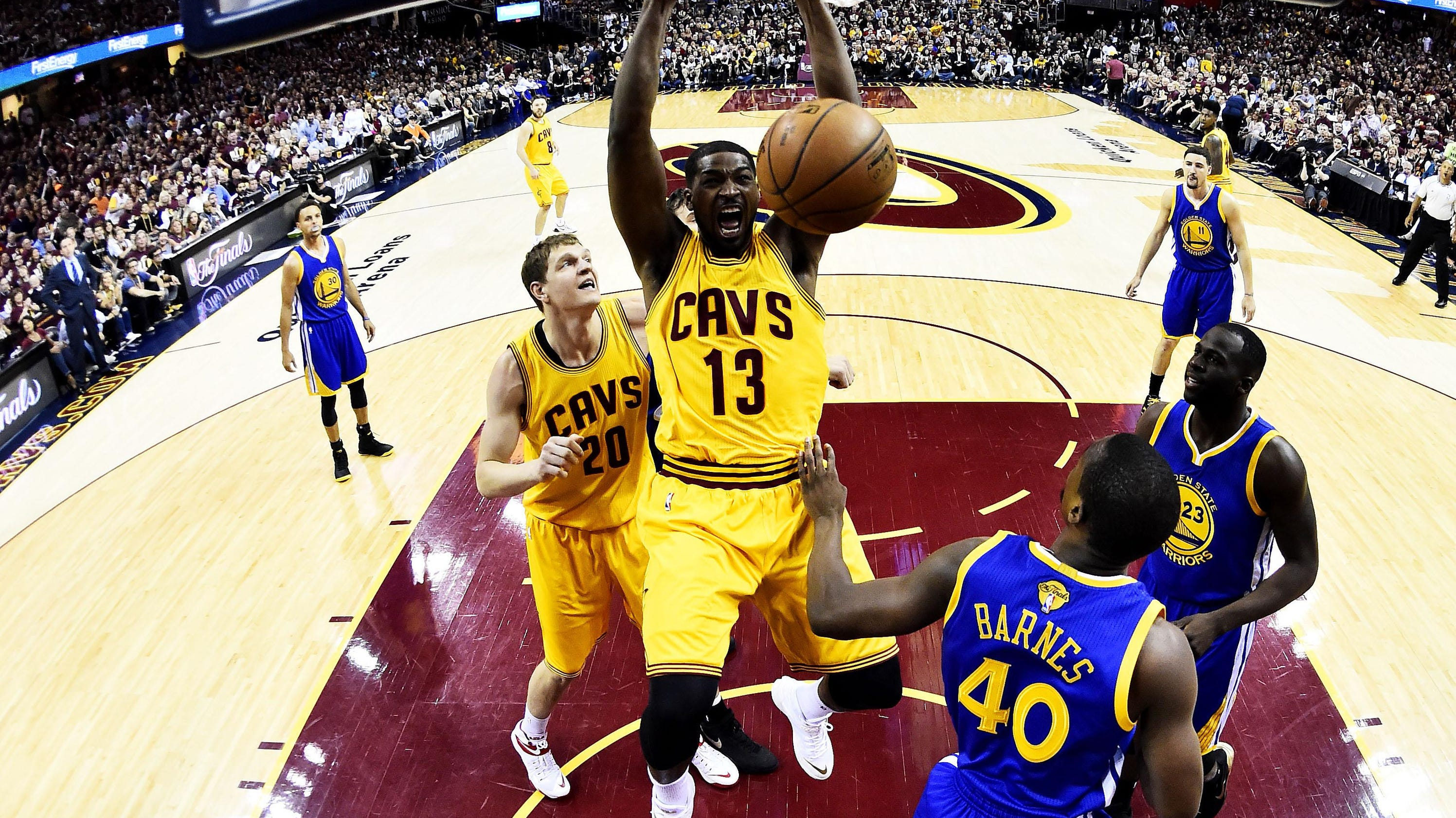 King James two wins away from the crown