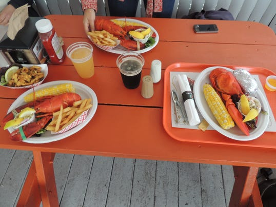 At Portland Lobster Company Catch And Eat Your Own
