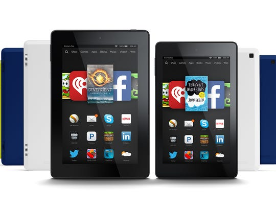 The Kindle Fire HD is available with a 6-inch screen or 7-inch display, as well as seven colors.