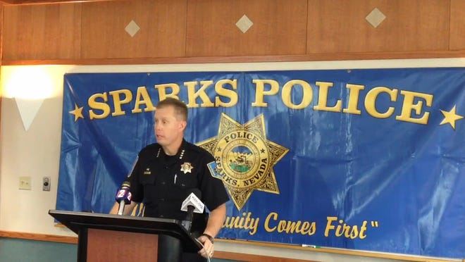 Sparks police were justified in killing an armed, reportedly suicidal woman and shooting her unarmed daughter in October, Washoe County District Attorney Dick Gammick said in a report filed this week. Sparks Police Chief Brian Allen did not take questions about the report Thursday in a brief, four-minute news conference about the shooting of Monica Ritchey, 45, and her daughter, Darcie Latham.