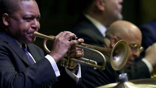 Wynton Marsalis performs at the Fine Arts Palace in Mexico City in March 2015.