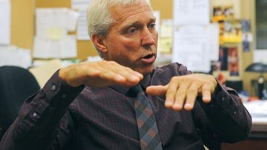 Harrisburg High School Principal Kevin Lein.