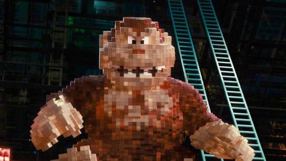 Adam Sandler's stagnant 'Pixels' now on Blu-ray