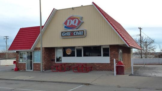 Police are searching for a man who robbed the Port Huron Dairy Queen with a sword Tuesday night.