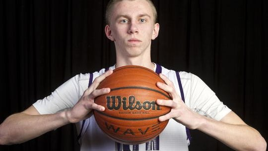 Rumson-Fair Haven's Brendan Barry was picked as the 2015 Asbury Park Press Boys Basketball player of the year