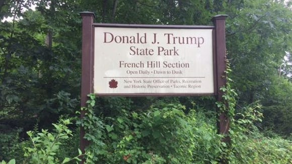The Donald J. Trump State Park stretches across Westchester and Putnam counties