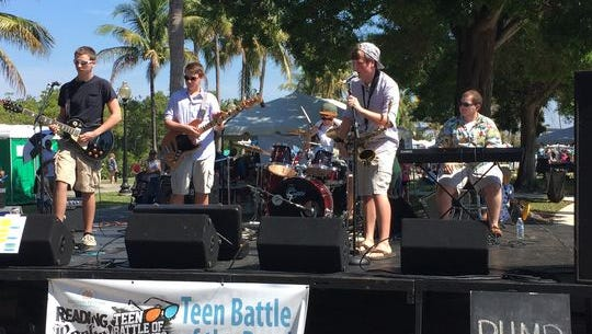 Teen band RHMB won last year's Reading Rocks! Teen Battle of the Bands