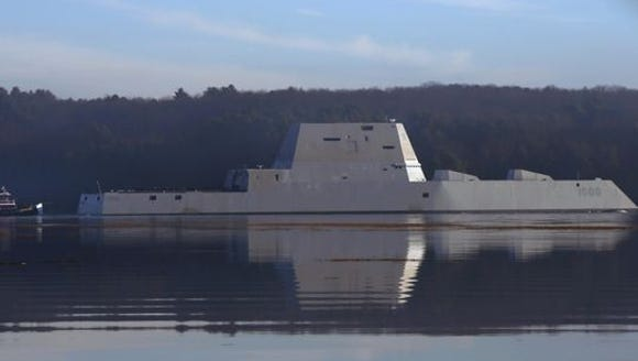 The newest destroyer in the Navy fleet named after