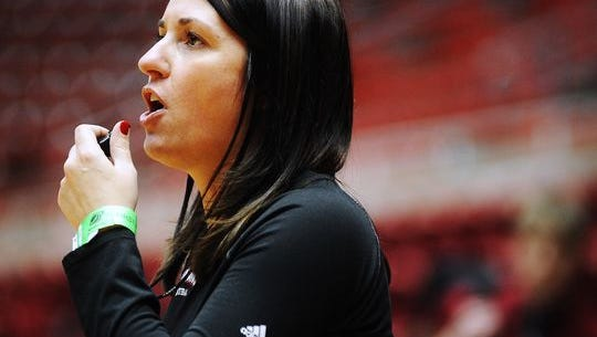 Amy Williams is taking her top four assistant coaches with her to Nebraska.