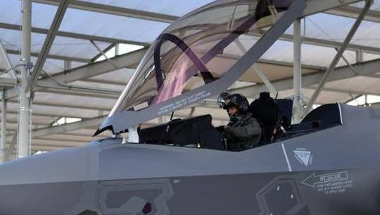 Lockheed Martin says it complete a successful test of a new, lightweight F-35 helmet.