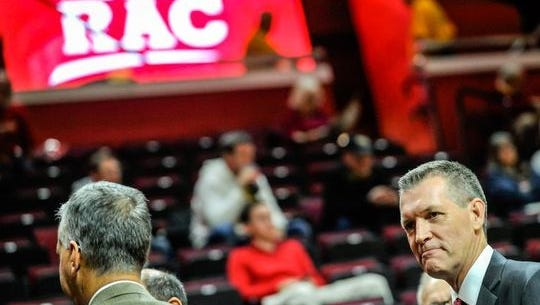 It's a good sign that the RAC finally has air conditioning under AD Pat Hobbs (pictured, right).