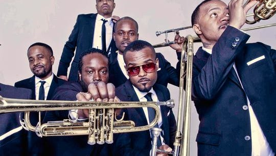 The Hypnotic Brass Ensemble will perform Oct. 27 as part of the Emens Presents at Pruis Hall series.