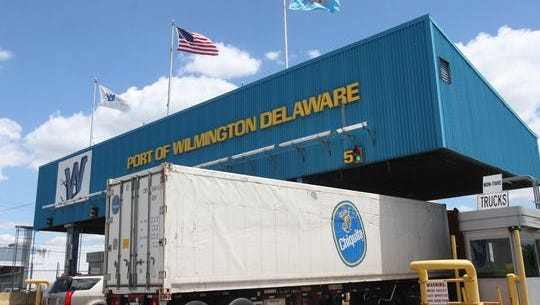 A worker aboard a Chiquita ship was injured at the Port of Wilmington Monday.