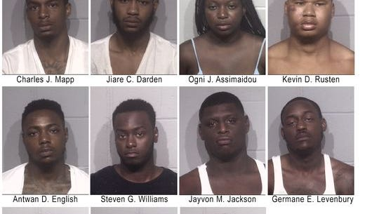 11 of 12 arrested in relation to riot in Ocean City on July 24.