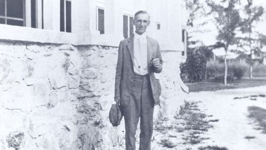 Dr. McSwain from Arcadia, was Lee County Hospital's first surgeon.
