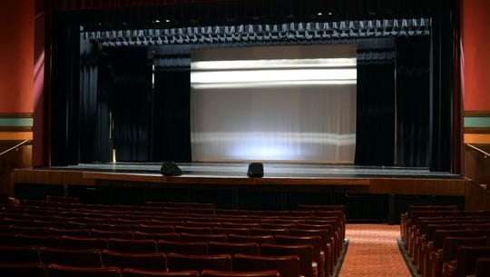 Vineland's 750-seat Landis Theater is Bay Atlantic Symphony's new Cumberland County home Friday, Sep. 30, 2016 in Vineland.