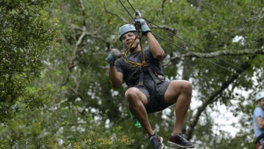 The Gulf Adventure Center has reached an agreement to relocate the popular zipline course to the Wharf in Orange Beach, Ala.