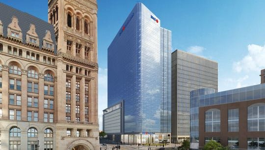 The BMO Harris Financial Center will include law firm Michael Best & Friedrich when it opens in January 2020.