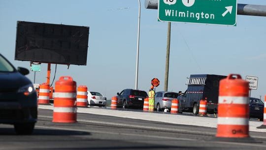 Ramps between Del. 1 and Del. 72 will close next week as crews race to finish the interchange.