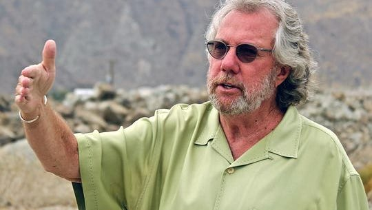 Developer Dennis Cunningham talks about the Pedregal deal at the property in 2015.
