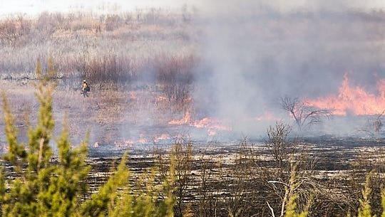 The honor came in response to their actions when a prescribed burn got out of control.