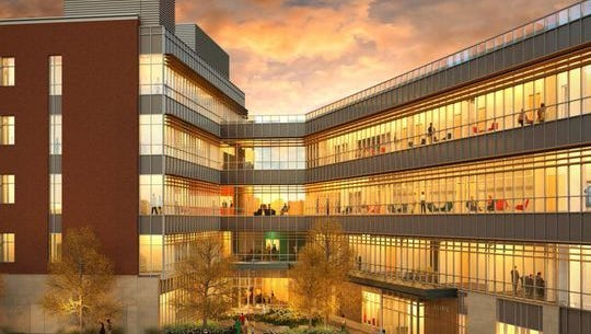 Ball State's College of Health will be under construction soon.