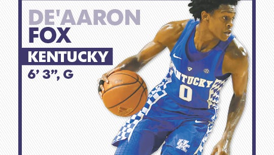 The Suns need defensive help and Fox is considered the best defensive point guard in the draft.