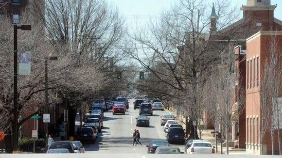 West Philadelphia street in the WeCo District -  West