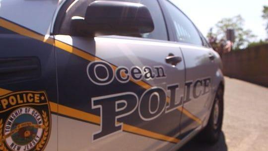 An Ocean Township police patrol car.