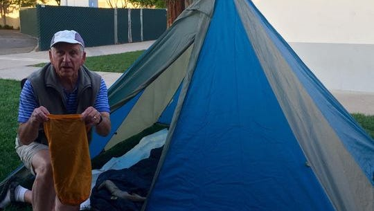 Tom Lionvale is also the instructor for the Back Country Backpacking course