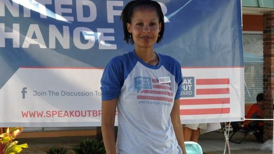 Tess Martin is the president of Speak Out Brevard, an activist grassroots organization. She lives in Melbourne.