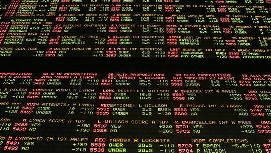 A legislative study group examined the possibility of legal sports gambling in Indiana.