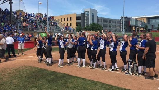 Williamsburg won the Division IV girls softball championship in June at Akron.