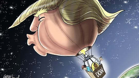 Trump's high-flying DOW