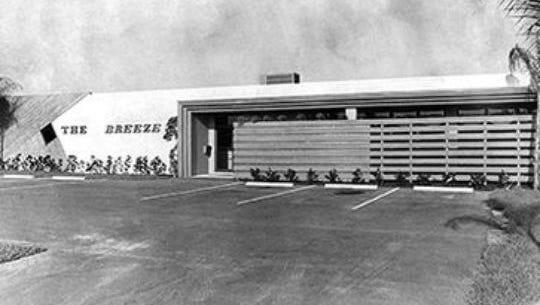 The Cape Coral  Breeze building, circa 1975.