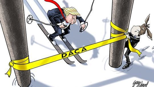 Is President Trump close to DACA finish line?