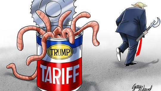 President Trump's can of worms.